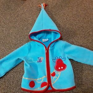 Toddler Girls Hanna Andersson Faux Fleece Jacket